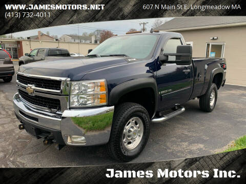 2009 Chevrolet Silverado 2500HD for sale at James Motors Inc. in East Longmeadow MA