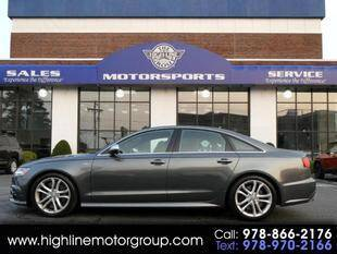 2017 Audi S6 for sale at Highline Group Motorsports in Lowell MA