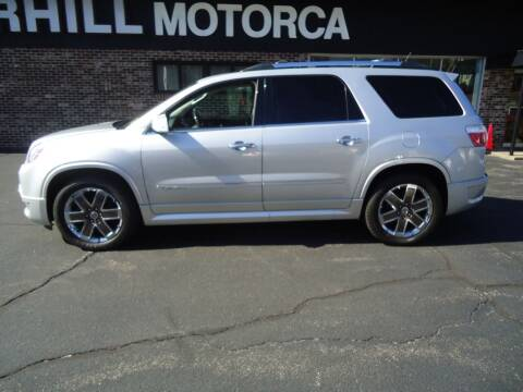 2012 GMC Acadia for sale at 125 Auto Finance in Haverhill MA