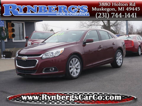 2015 Chevrolet Malibu for sale at Rynbergs Car Co in Muskegon MI