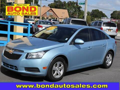 2012 Chevrolet Cruze for sale at Bond Auto Sales in St Petersburg FL
