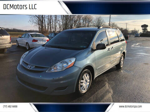 2008 Toyota Sienna for sale at DCMotors LLC in Mount Joy PA