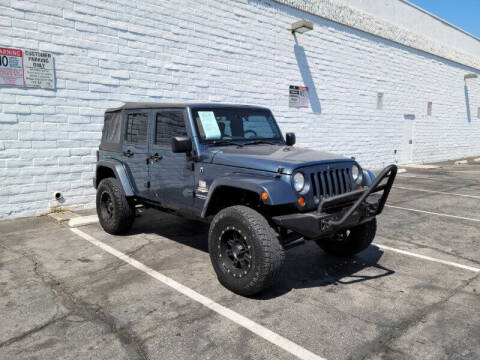 2007 Jeep Wrangler Unlimited for sale at ADVANTAGE AUTO SALES INC in Bell CA