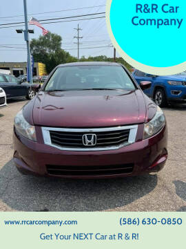 2010 Honda Accord for sale at R&R Car Company in Mount Clemens MI
