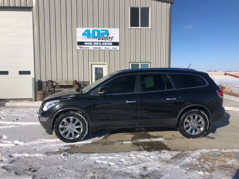 2012 Buick Enclave for sale at 402 Autos in Lindsay NE