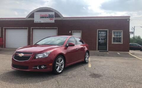 2013 Chevrolet Cruze for sale at Family Auto Finance OKC LLC in Oklahoma City OK