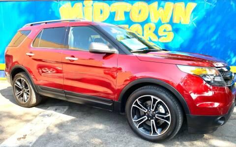 2013 Ford Explorer for sale at Midtown Motors in San Jose CA