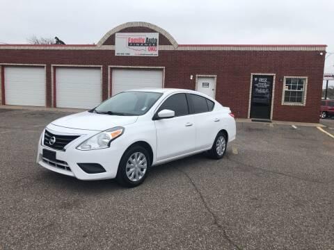 2016 Nissan Versa for sale at Family Auto Finance OKC LLC in Oklahoma City OK