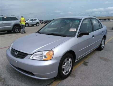 2001 Honda Civic for sale at HW Used Car Sales LTD in Chicago IL