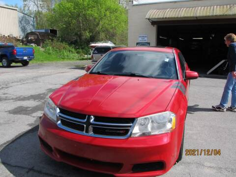 2012 Dodge Avenger for sale at Mid - Way Auto Sales INC in Montgomery NY
