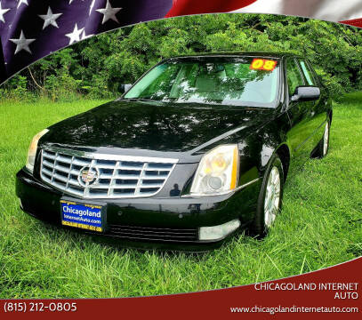 2008 Cadillac DTS for sale at Chicagoland Internet Auto - 410 N Vine St New Lenox IL, 60451 in New Lenox IL