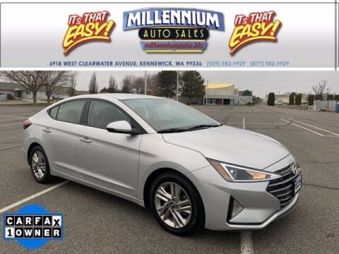 2019 Hyundai Elantra for sale at Millennium Auto Sales in Kennewick WA