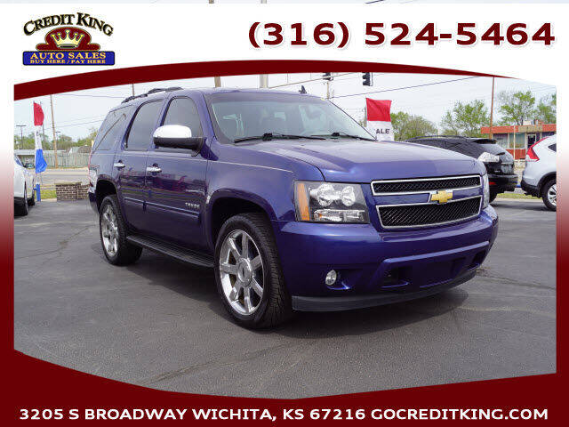 2012 Chevrolet Tahoe for sale at Credit King Auto Sales in Wichita KS