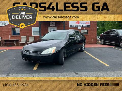 2005 Honda Accord for sale at Cars4Less GA in Alpharetta GA