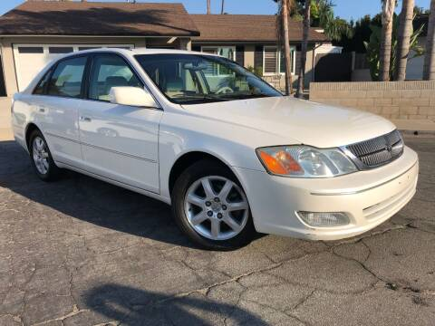 2002 Toyota Avalon for sale at SoCal Motors in Los Alamitos CA
