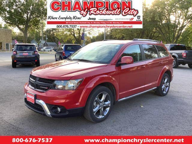 2017 Dodge Journey for sale at CHAMPION CHRYSLER CENTER in Rockwell City IA