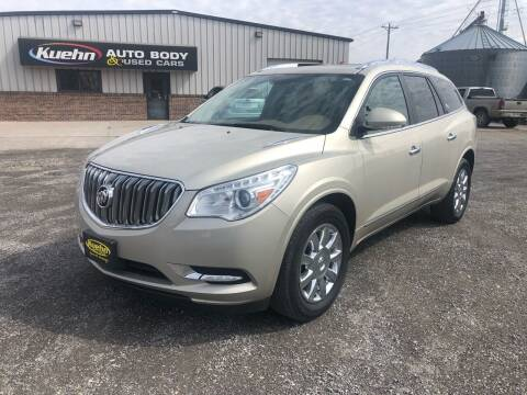 2013 Buick Enclave for sale at KUEHN AUTO SALES in Stanton NE