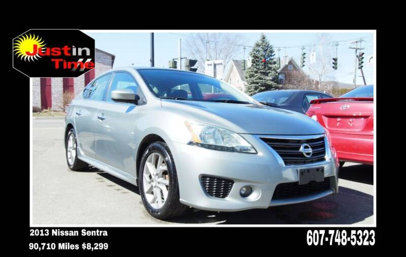 2013 Nissan Sentra for sale at Just In Time Auto in Endicott NY