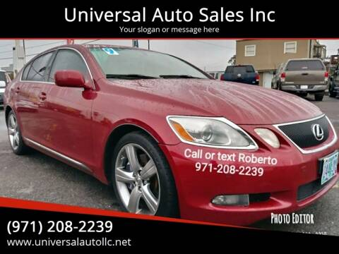 2006 Lexus GS 430 for sale at Universal Auto Sales Inc in Salem OR