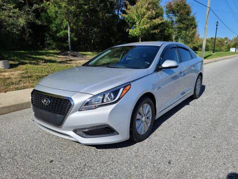 2016 Hyundai Sonata Hybrid for sale at Premium Auto Outlet Inc in Sewell NJ