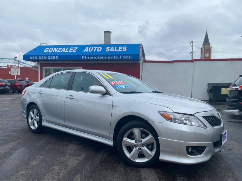 2011 Toyota Camry for sale at Gonzalez Auto Sales in Joliet IL