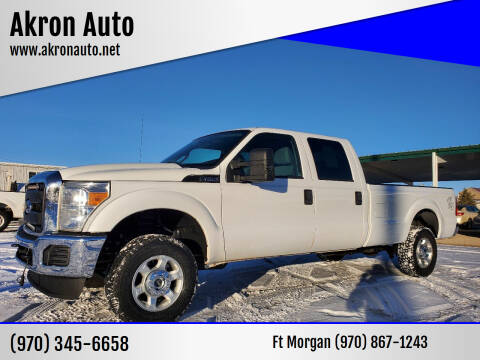 2016 Ford F-250 Super Duty for sale at Akron Auto in Akron CO