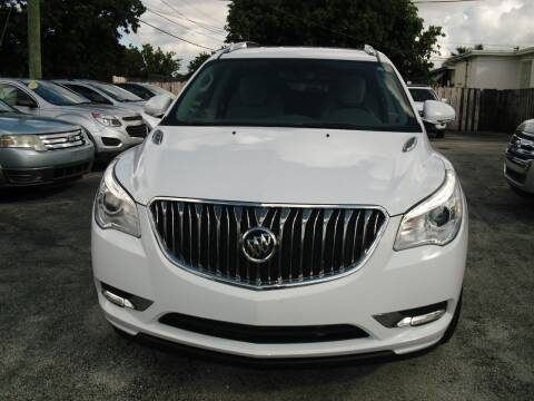 2017 Buick Enclave for sale at SUPERAUTO AUTO SALES INC in Hialeah FL