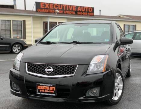 2011 Nissan Sentra for sale at Executive Auto in Winchester VA