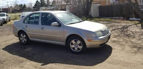 2004 Volkswagen Jetta for sale at 3-B Auto Sales in Aurora CO