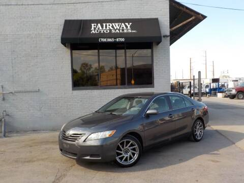 2009 Toyota Camry for sale at FAIRWAY AUTO SALES, INC. in Melrose Park IL