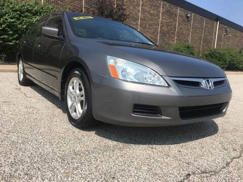 2006 Honda Accord for sale at Classic Motor Group in Cleveland OH