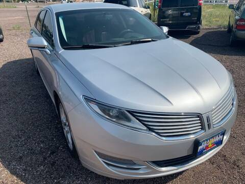 2014 Lincoln MKZ for sale at Praylea's Auto Sales in Peyton CO