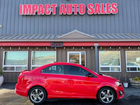 2016 Chevrolet Sonic for sale at Impact Auto Sales in Wenatchee WA