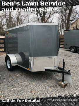 2020 Doolittle BL5X08S for sale at Ben's Lawn Service and Trailer Sales in Benton IL