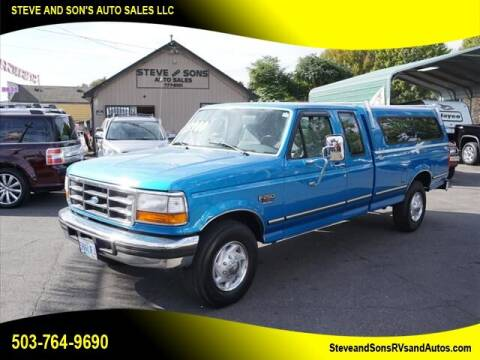 1995 Ford F-250 for sale at Steve & Sons Auto Sales in Happy Valley OR