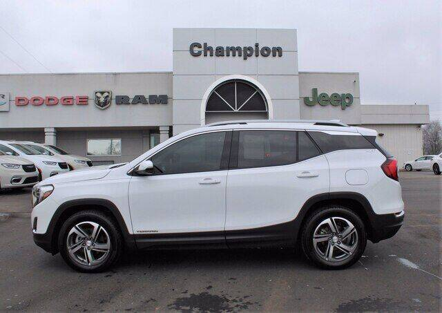 2020 GMC Terrain for sale at Champion Chevrolet in Athens AL