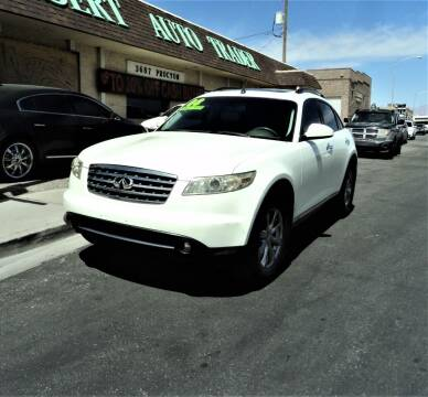 2008 Infiniti FX35 for sale at DESERT AUTO TRADER in Las Vegas NV