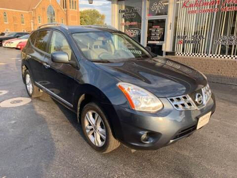 2013 Nissan Rogue for sale at KUHLMAN MOTORS in Maquoketa IA