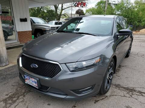 2016 Ford Taurus for sale at New Wheels in Glendale Heights IL