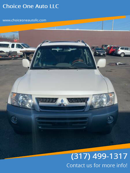 2003 Mitsubishi Montero for sale at Choice One Auto LLC in Beech Grove IN