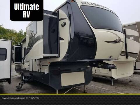 2014 Crossroads Rushmore Lincoln for sale at Ultimate RV in White Settlement TX