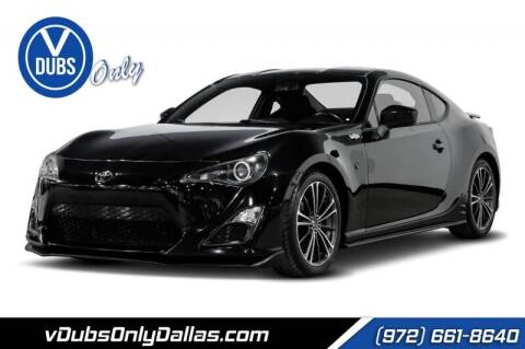 2013 Scion FR-S for sale at VDUBS ONLY in Dallas TX