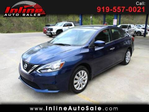 2016 Nissan Sentra for sale at Inline Auto Sales in Fuquay Varina NC