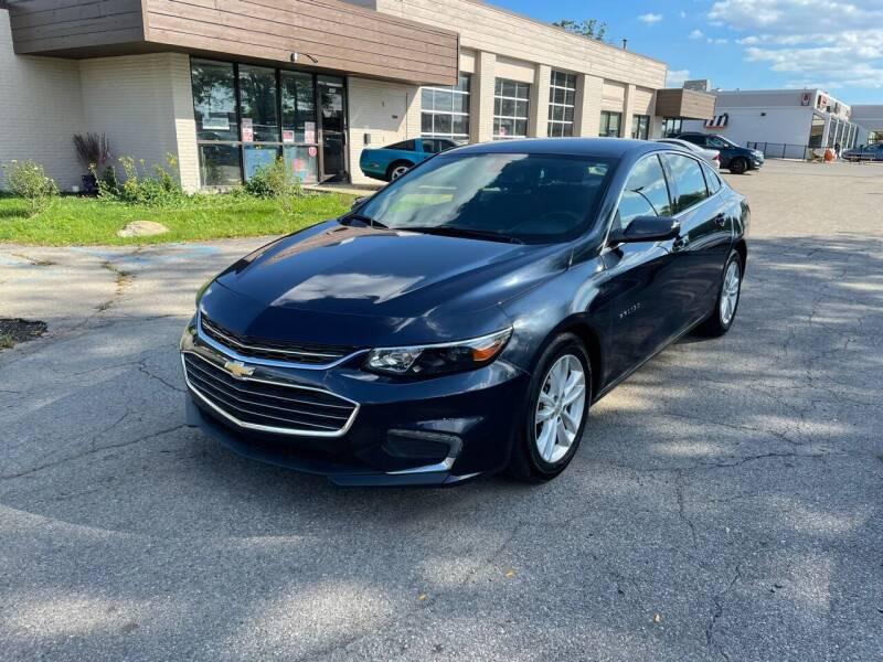 2018 Chevrolet Malibu for sale at Dean's Auto Sales in Flint MI