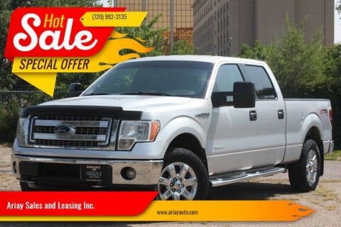 2013 Ford F-150 for sale at Ariay Sales and Leasing Inc. - Pre Owned Storage Lot in Glendale CO