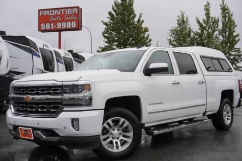 2017 Chevrolet Silverado 1500 for sale at Frontier Auto & RV Sales in Anchorage AK
