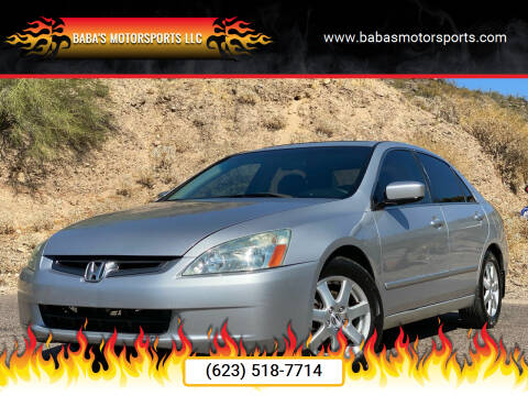 2005 Honda Accord for sale at Baba's Motorsports, LLC in Phoenix AZ