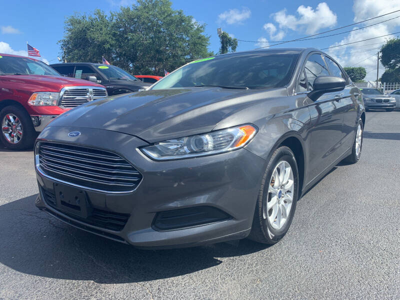 2015 Ford Fusion for sale at Bargain Auto Sales in West Palm Beach FL