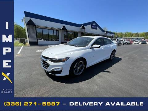2021 Chevrolet Malibu for sale at Impex Auto Sales in Greensboro NC