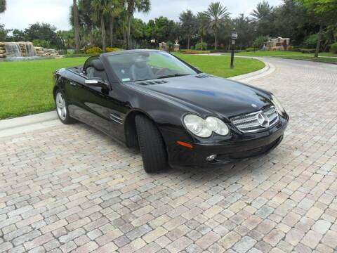 2005 Mercedes-Benz SL-Class for sale at AUTO HOUSE FLORIDA in Pompano Beach FL